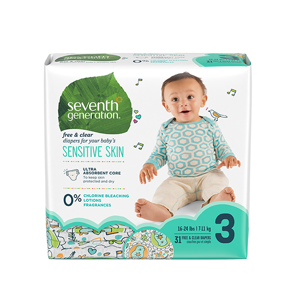 Seventh Generation 3 Beden Bebek Bezi  3 Beden - 2