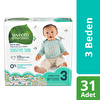 Seventh Generation 3 Beden Bebek Bezi  3 Beden - 4