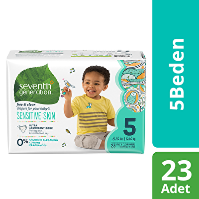 Seventh Generation 5 Beden Bebek Bezi 5 Beden - 1